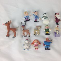 Rudolph & the Island of  Misfit Toys Figures Lot Clarice Comet Santa elephant #MemoryLaneorother
