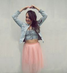 Tulle skirt http://corazonfashionandstyle.blogspot.com/2015/08/ballerina.html