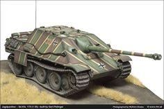 """Die Luftwaffe im Modell: Sd.Kfz. 173 """"Jagdpanther"""""""