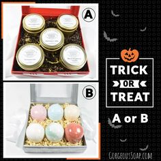 🎃 Trick or Treat! Would you choose A or B?