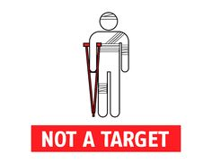 #NotATarget - Pictograms | Doctors Without Borders Canada/Médecins Sans Frontières (MSF) Canada