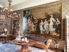 prachtig schilderij in de Borg Verhilversum Groningen