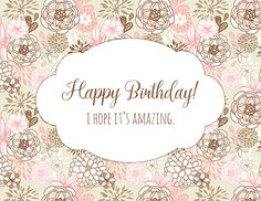 An amazing #happybirthday card to wish your #birthday pal.