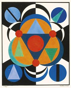 View artworks for sale by Herbin, Auguste Auguste Herbin French). Abstract Painters, Abstract Art, Cubist Artists, Classic Artwork, Action Painting, Illusion Art, Le Corbusier, Geometric Art, Modern Art