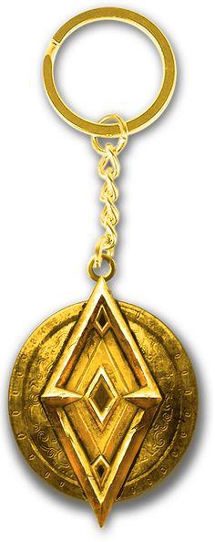 The Elder Scrolls Online Imperial Key Ring – MerchandiseMonkey