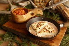 leipäjuusto ja hillat