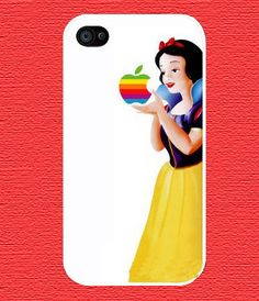 Personalized Snow White Case, for Phone 4 iphone 4s Pattern Print iphone hard case for iphone 4, iphone 4S-plastic Iphone cover
