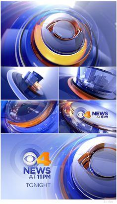 CBS4 Rebrand | Motion Design Package on Behance
