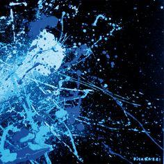 Giro di schiaffi - Blu