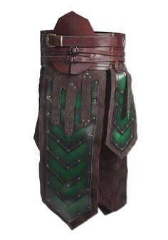 Leather pieces of armor: medieval tassets, leather belts and Larp Armor, Cosplay Armor, Armadura Medieval, Ancient Armor, Medieval Armor, Dwarf Costume, Crea Cuir, Foam Armor, Costume Armour