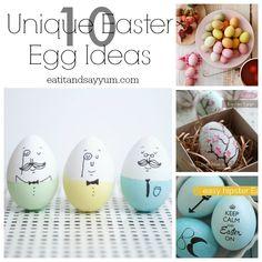 Unique Easter Egg Ideas