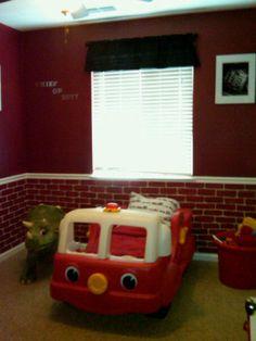 Firefighter Room Boys Room Designs Decorating Ideas HGTV