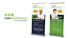 3-Part Pop-Up Banner Design for Client Assurance Power Systems ...
