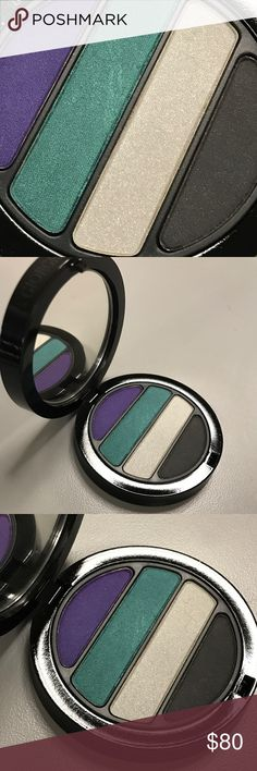 Giorgio Armani Transluminence quad eyes to kill LE From the Transluminence Spring 2011 limited edition collection, very rare, LE DC VHTF! Transluminence Eyes to Kill 4 color eyeshadow palette quad is insanely pigmented, beautiful shades! This one is brand new, never touched or swatched. Selling my backup. *Last photo credit (swatches) from the amazing Christine at temptalia.com.* Giorgio Armani Makeup Eyeshadow