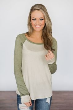 Touch of Sage Top – The Pulse Boutique