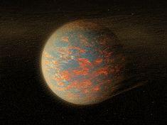 Artist's Impression of the Exoplanet 55 Cancri e