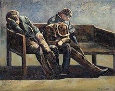 De drie gebroeders 1965 by Jopie Huisman