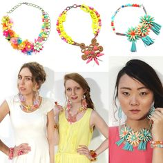 Carmi's Art/Life World: Tropical Punch Fashion Show Jewelery