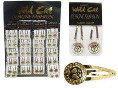 Wholesale Jewelry & Accessories - Gold-Tone Snap-Clips