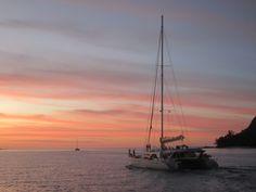 Katamaran, Seychellen