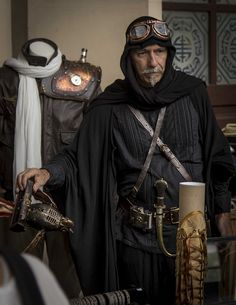 Not sure what this is, but super cool - steampunk bedouin maybe?