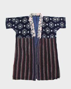 Vintage Kasuri Noragi Jacket, 09