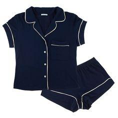 Short pajama set.