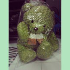 ของขวัญวันเด็ก หมีตัวโตน่ารักขิงๆ