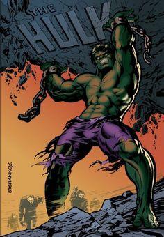The Hulk Marvelmania Poster by Jim Steranko (remastered) Marvel Comics Art, Hulk Marvel, Batman Vs Superman, Marvel Heroes, Marvel Characters, Comic Book Artists, Comic Artist, Comic Books Art, Hulk Movie