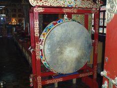 tambor budista (Monasterio Katmandhu)