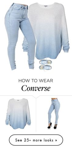 """Untitled #750"" by prettygirlnunu on Polyvore featuring Vince and Converse"