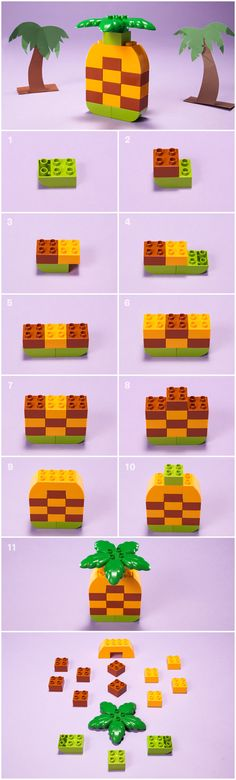 How to turn a few LEGO® DUPLO® bricks into your own DIY educational toy or game for your toddler or preschooler to help them develop early childhood skills Lego Duplo, Diy Toys And Games, Lego Therapy, Lego Food, Lego Creative, Lego Challenge, Lego Club, Lego Craft, Kindergarten