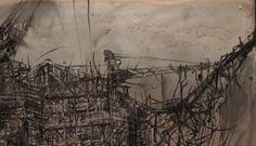 natura-morta-contemporanea-95x65-dettaglio-1 - Peinture ©2013 par Alessandro Carnevale -            alessandro carnevale, arte, archeologia industriale, pittura, ferro, ruggine, alessandro, carnevale, sullo scandalo metallico, scandalo, metallo, espressione, industria, eredità industriale alessandro carnevale artista
