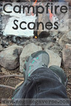 Recipe for campfire (frypan) scones - This is such an easy recipe. Make it at home prior to leaving the house and freeze the dough, then all you have to do is cook the scones when you're out camping.