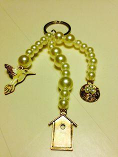 Fun to do with kids Diy Keychain, Pearl Necklace, Pearls, Fun, Kids, Jewelry, Fin Fun, Toddlers, Bijoux