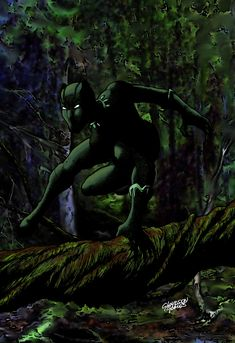 Black Panther by Glaydson Gomes