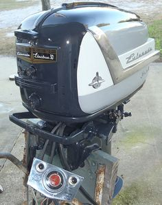 1956 30 hp Evinrude Lark Outboard Antique Boat Motor For Sale