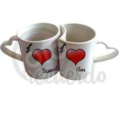 Mugs, Tableware, Hearts, Dinnerware, Tumblers, Tablewares, Mug, Dishes, Place Settings