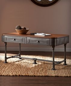Look at this Edison Cocktail Table on #zulily today!