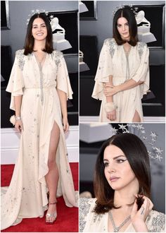 Jan.28, 2018: Lana Del Rey attends the 60th annual Grammy Awards at Madison Square Garden in New York City #LDR