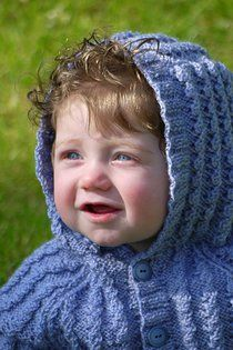 Free Knitting Pattern: Bluebell Jacket