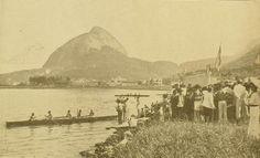 Regata na Lagoa Rodrigo de Freitas  Revista a Careta Year: 1935  Source: Biblioteca Pública do Estado do Rio de Janeiro.