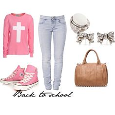 Aaahh!! This would be a super cute outfit for church :-) or for back to school! #backtoschool