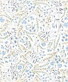 Liberty Art Fabrics, Liberty print Lillian's berries, A, tana lawn from the Liberty Art Fabrics collection