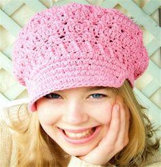 XL size New toddler hat Spring beanie women's newsboy hat crochet adult hats…
