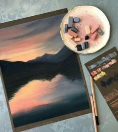 59 ideas beautiful art drawings inspiration artworks chalk pastels for 2019 Art Inspo, Painting Inspiration, Oil Pastel Art, Chalk Pastel Art, Pastel Artwork, Oil Pastel Paintings, Oil Pastel Drawings, Watercolor Paintings, Watercolor Girl