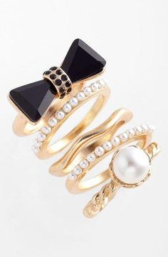 Adia Kibur Rings (Set of 5)