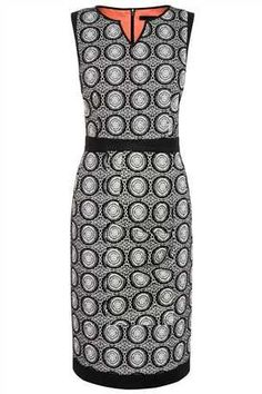 Buy Black And White Jacquard Dress from the Next UK online shop
