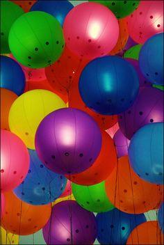 balloons  #colors #rainbow