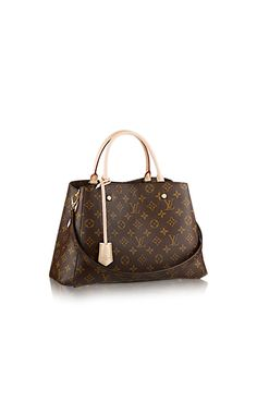 Discover Louis Vuitton Montaigne MM via Louis Vuitton